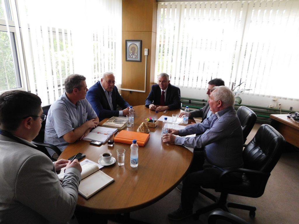 Sastanak u opštini Vračar